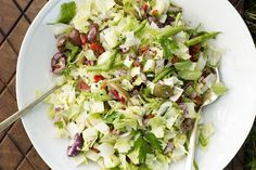 Find the recipe for Chopped Salad and other green bean recipes at Epicurious.com