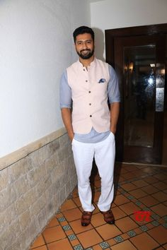 'Uri' has been the most physically demanding film: Vicky Kaushal - Social News XYZ Indian Men Fashion, Ethnic Fashion, Mehndi Designs For Beginners, Man Crush Everyday, Actors Images, Indian Man, Star Cast, Love Me Forever, Bollywood Stars