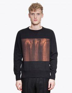 Our Legacy Handprinted Sweatshirt Black