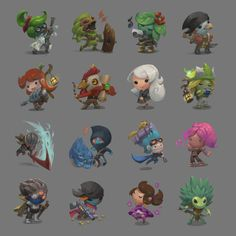 More Starbound Chibis by Nightblue-art.deviantart.com on @deviantART