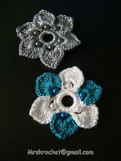 PICTURE ONLY - Love the pearl flowers