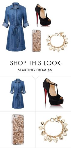 """Untitled #167"" by resentida on Polyvore featuring Christian Louboutin, Case-Mate, Forever 21, women's clothing, women's fashion, women, female, woman, misses and juniors"