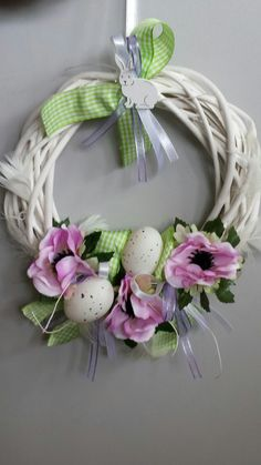 Grapevine Wreath, Grape Vines, Wreaths, Decoration, Spring, Flowers, Design, Home Decor, Easter