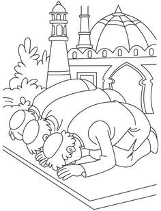 Islamic Coloring Pages & Activity Sheets Archives - Islamic Comics | 308x236