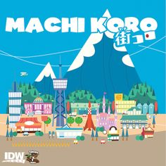 Best board games for older kids: build your own city with Machi Koro