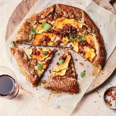 This simple delicata squash and sausage crostata is filled with ricotta and topped with a drizzle of honey for a filling and easy weeknight dinner. Get the recipe at Food & Wine. Honey Recipes, Fall Recipes, Sausage Recipes, Cooking Recipes, Vegetarian Recipes, Savoury Recipes, Pizza Recipes, Gourmet Recipes, Dinner Recipes