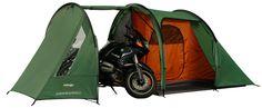 De Vango Stelvio 200 is een bijzondere tent. Hij biedt slaapruimte voor 2 personen, maar daarnaast is er ook ruimte om 2 fietsen in de tent te zetten. Een speciale tent voor fietsliefhebbers of motorrijders dus!  Bekijk hier deze Vango tent: http://www.kampeerwereld.nl/vango-stelvio-200/