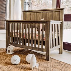 47 gorgeous baby boy nursery ideas to inspire you 15 Best Baby Cribs, Baby Beds, Best Changing Table, Traditional Cribs, Wooden Cribs, Baby Room Decor, Nursery Decor, Rustic Nursery, Convertible Crib