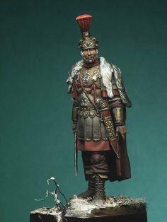 The General - Germany - Late II century version Rome History, Ancient History, Roman Armor, Pax Romana, Roman Centurion, Ancient Armor, Roman Legion, Greek Warrior, Fantasy Art Men
