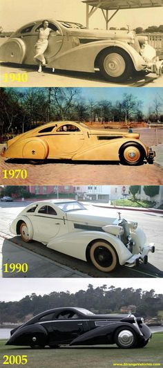 Vintage Cars Classic Just a Car Guy: Before and after photos of the incredibly unusual 1925 Jonckheere Rolls-Royce Phantom Aerodynamic Coupe Rolls Royce Phantom, Voiture Rolls Royce, Rolls Royce Cars, Rolls Royce Coupe, Sexy Cars, Hot Cars, Carros Vintage, Vintage Cars, Antique Cars