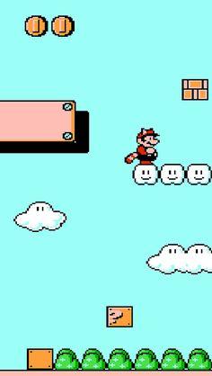 Super Mario Bros 3 iPhone 5 wallpaper | Matt Gemmell | Flickr