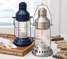 Add style to the room with Pottery Barn Kids' table lamps. Shop kids lamps that make great desk lamps or bedside table lamps. Table Lanterns, Table Lamps, Kids Lamps, Nautical Nursery, Safari Bedroom, Rustic Country Kitchens, Baby Boy Rooms, Baby Furniture, Room Themes