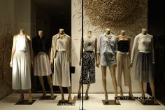 Club Monaco, #NYC featuring #newjohnnissen #mannequins supplied by DK Display…