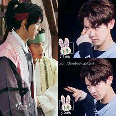 be careful Baek @real__pcy ❤ @baekhyunee_exo #chanyeol #baekhyun #chanbaek…
