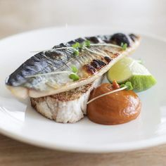 Credit to @nathanoutlaw Grilled Mackerel on toast, Sardine & Tomato Ketchup This epitomises simple ingredients cooke...