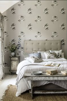 Bedroom Wallpaper Designs Mesmerizing One Of Favourite Wallpaper Designs This Is Barneby Gates Honey Design Ideas
