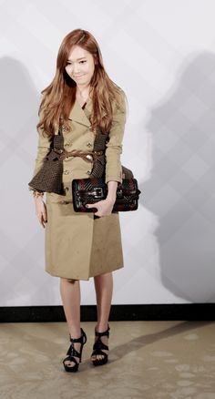 SNSD's Jessica at Burberry Opening Event in Taiwan