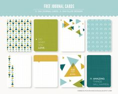 """3x4 """"Work Hard"""" Journal and Filler Card - Luvly Marketplace 