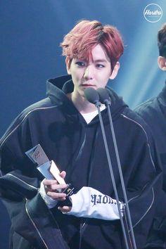 Baekhyun - 161116 2016 Asia Artist Awards Credit: Haribo.