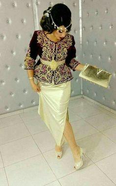 Algerian Beauties | Nuriyah O. Martinez | Karakou Algerois #algeriantraditionaldresses #Algérie #الجزائر #Algeria