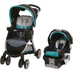 Graco FastAction Fold Classic Connect Travel System, Dolce ((We saw this tonight @ Walmart.... and I must say, I absolutely *LOVE* the colors... Was sure I wanted the Graco Milton (orange and gray) but now.... NOT so sure?! Only downfall is that this is like 40 bucks more than the other.. Decisions, decisions!!))