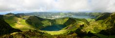 """Hell's Mouth - 3 Lagoons - Follow me on <a href=""""http://www.facebook.com/jcdesignphotography"""">Facebook</a>  Hell's Mouth - 3 Lagoons, São Miguel Island, Azores.  The """"Miradouro da boca do Inferno"""" (Hell's Mouth View) is one of the most beautifull places where I have ever been. From this point we can see the """"Lagoa do Canário"""" (Canary Lagoon), the """"Lagoa das Sete Cidades"""" (Seven Cities Lagoon) and the """"Lagoa Rasa"""" (Rasa Lagoon). I found this place simply magical, someday I will return for…"""