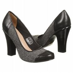 Women's Fossil Sahara High Heel Pump Black Mutli Shoes.com