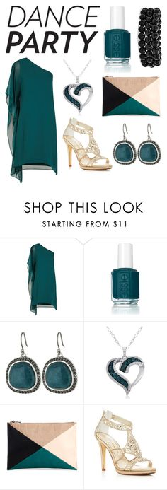 """Make me dance"" by radmad2002 ❤ liked on Polyvore featuring BCBGMAXAZRIA, Essie, Lucky Brand, Amanda Rose Collection, Sole Society, Caparros and Bling Jewelry"
