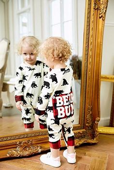 45288afcd811 Mikrdoo 0-24M Baby Clothes Long Sleeve Romper Jumpsuits Bear Bodysuits  Outfits. Seaby · Baby Rompers · Mikrdoo Toddler Baby Girl ...