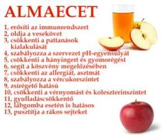 Almaecet - 13 ok Healthy Drinks, Healthy Recipes, Hungarian Recipes, Health Facts, Natural Healing, Health Remedies, Eating Well, Food Inspiration, Health And Beauty
