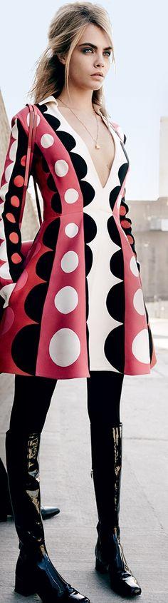 POLKA DOTS~DRESS LUNARES....❤
