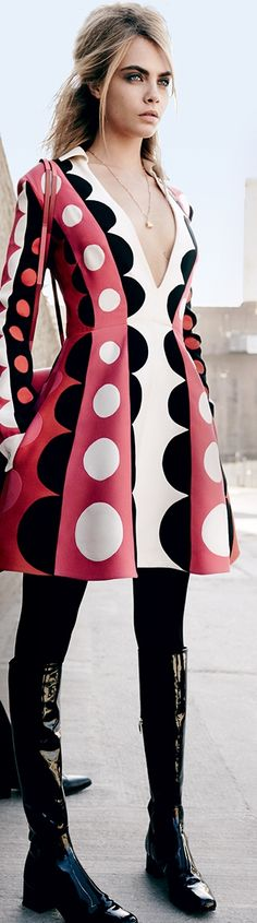 POLKA DOTS~DRESS LUNARES....❤