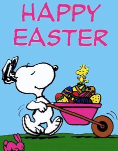 Spring time Snoopy