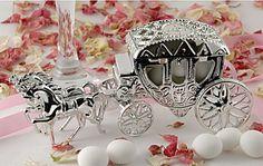 Silver Wedding Carriage from CelebrationsPlus.com