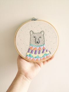 Embroidery all of kind animals