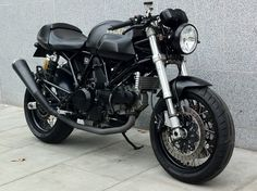 Ducati cafe racer/street tracker. Great little essay about riding if you follow the link