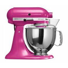 #KitchenAid Artisan Keukenmachine in vrolijk Fuchsia