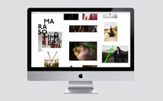 Brogen Averill – Identity for photographer Mara Sommer