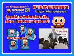 Nuestro Mas Valioso Producto - Formación - Videos - E-Book - Foros - Soporte  http://www.5tenders.com/affiliates/uid/socios_1