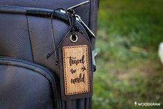 fb325175f867 Leather Luggage Tag Personalized Travel Tag Wedding Gift | Etsy Багажные  Сумки, Кожаная Сумка,