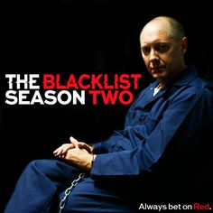 The Blacklist's Season Two, can't wait! Red is number two on the most wanted list after going on a killing spree