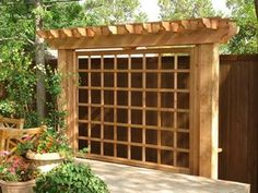 Image result for privacy trellis
