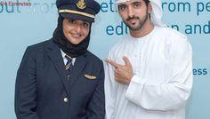 Shaikh Mohammad tours Emirates new cabins, Hamdan snaps selfie with niece