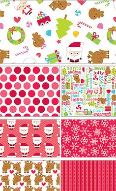 Santa Express by Doodlebug Design for Riley Blake Designs—Subscribe to our newsletter at http://www.rileyblakedesigns.com/newsletter/