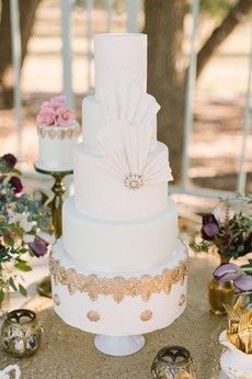 Great Gatsby Inspiration Cake