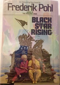 Frederik Pohl, SIGNED Black Star Rising, 1st edition HC 1985 science fiction