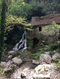 A windmill in Morigerati (Cilento - Italia)