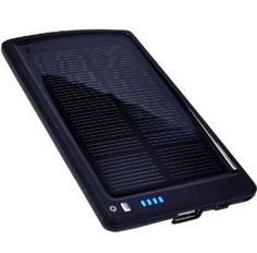 Opteka BP-SC4000 Ultra Thin Solar Powered High Capacity (4000mAh) Backup Battery and Charger for Cell Phones, iPhone, iPod, and Most USB Powered Devices: Cell Phones & Accessories