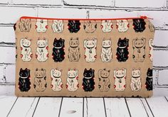 Lucky Cat, Maneki Neko Pencil Case