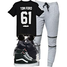 Tom Ford 61 x Vans by cheerstostyle on Polyvore featuring polyvore, fashion, style, Tom Ford, LA: Hearts, Vans and ASOS